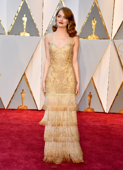 Emma Stone in Givenchy Couture