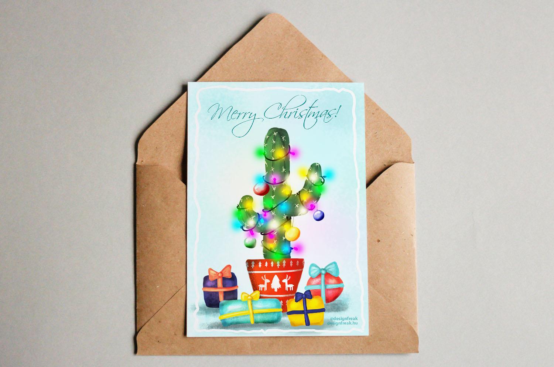 kaktusz-karácsonyi-képeslap