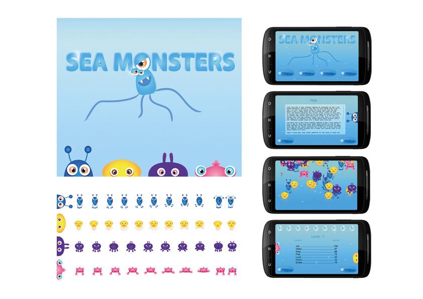 Sea Monsters - Android játék