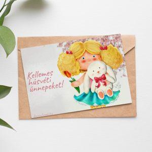 kedves húsvéti képeslap