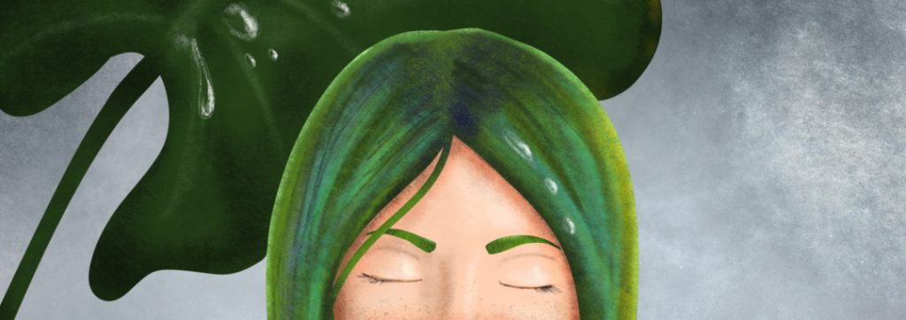 summer rain digitális festés