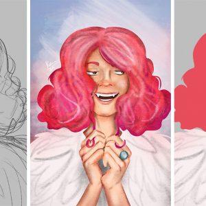 Lucy - a rózsaszín hajú vámpírlány