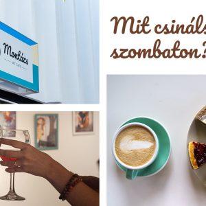 Szombat esti programajánló: Kiállítás és szülinapi buli a Montázs Art Caféban