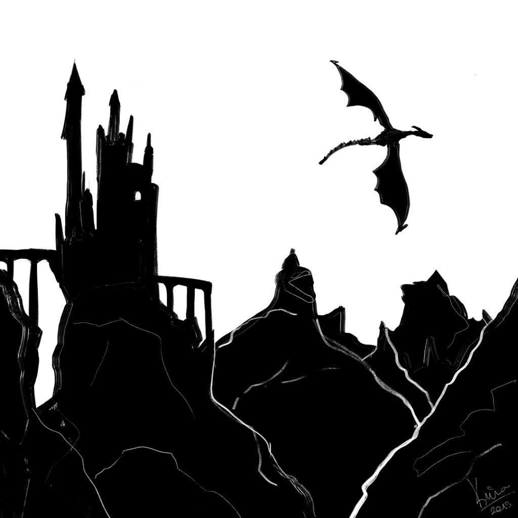 sárkány rajz