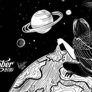 Illusztrációk: Inktober 2019 kihívás első hét