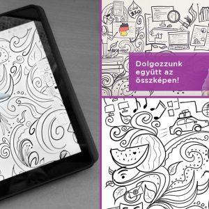 Személyes történetek a háttérben – Illusztrációim az IT Services Hungary plakátjain