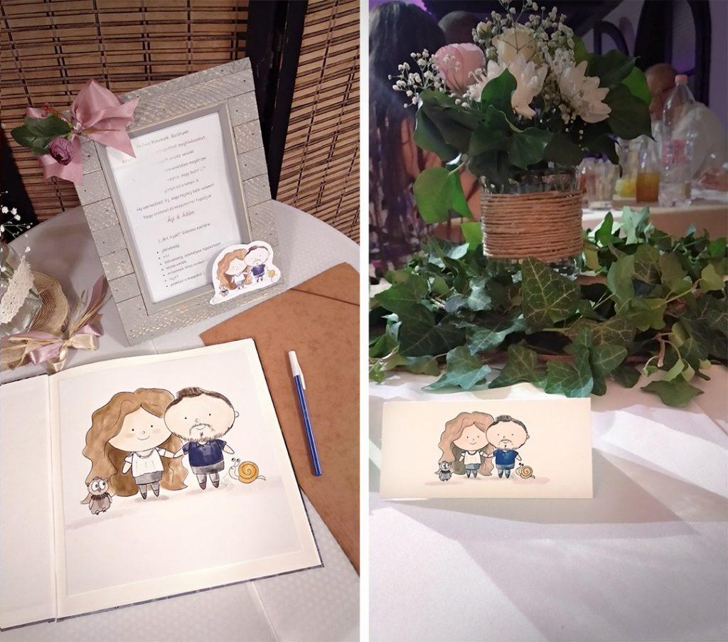 köszönőajándék esküvőre